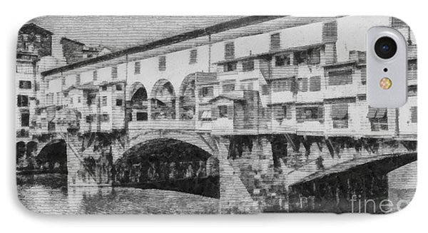 Ponte Vecchio IPhone Case by Edward Fielding