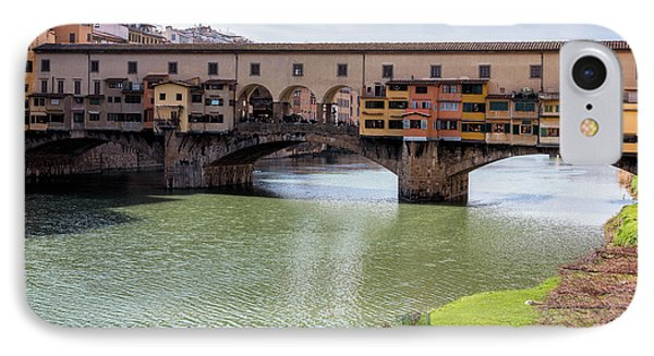 IPhone Case featuring the photograph Ponte Vecchio Florence Italy II by Joan Carroll