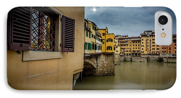 IPhone Case featuring the photograph Ponte Vecchio by Sonny Marcyan