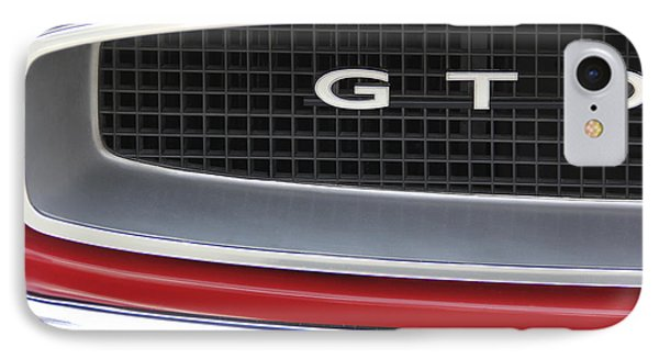 Pontiac Gto  Phone Case by Mike McGlothlen