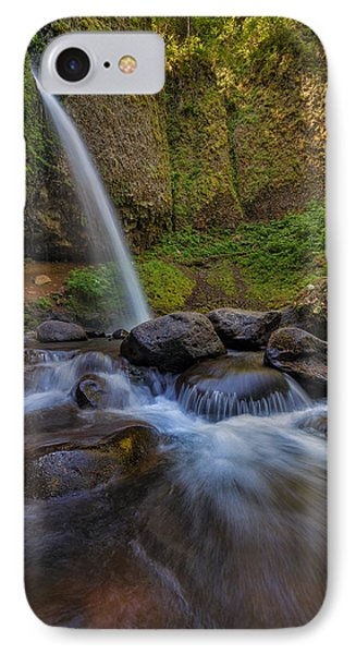 Ponytail Falls Phone Case by David Gn