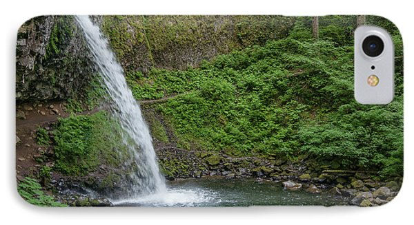 Ponytail Falls IPhone Case by Greg Nyquist