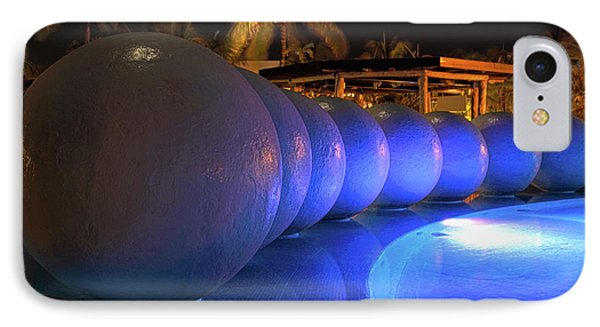 IPhone Case featuring the photograph Pool Balls At Night by Shane Bechler