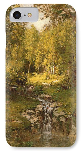 Pool In The Woods IPhone Case by Alexander Helwig  Wyant