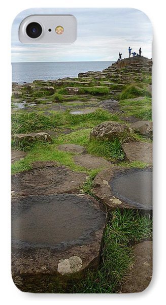 Pools On The Giant's Causeway IPhone Case by Matt MacMillan