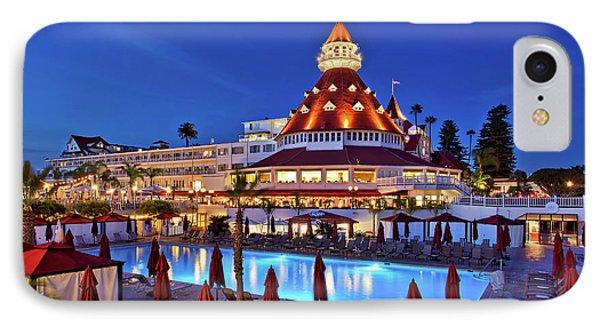 Poolside At The Hotel Del Coronado  IPhone Case