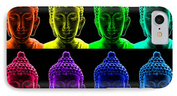 Pop Art Buddha  Phone Case by Fabrizio Troiani