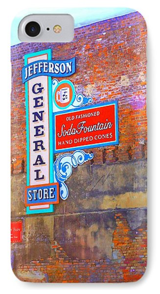 IPhone Case featuring the photograph Pop Art General Store by Ellen O'Reilly