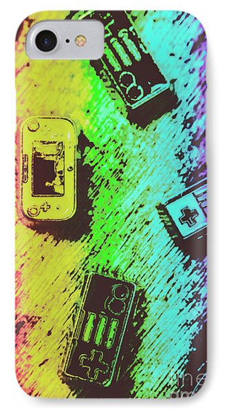 Pop Art Video Games IPhone Case