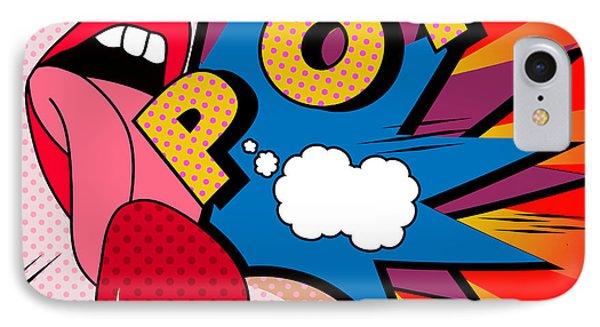 pop IPhone Case by Mark Ashkenazi