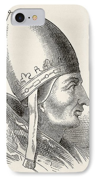 Pope Innocent IIi 1161 To 1216. From IPhone Case by Vintage Design Pics