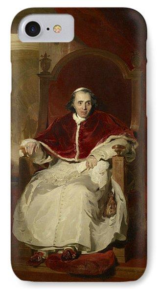 Pope Pius Vii IPhone Case