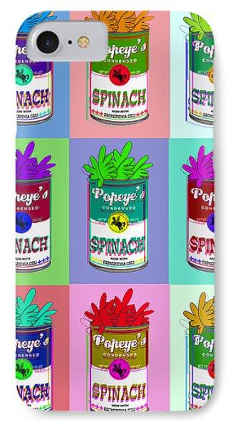 Popeye Warhol IPhone Case by Tony Rubino