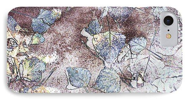 Poplar Leaf Path IPhone Case