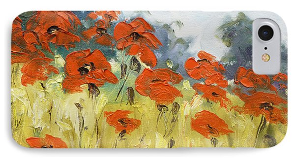 Poppies 3 IPhone Case