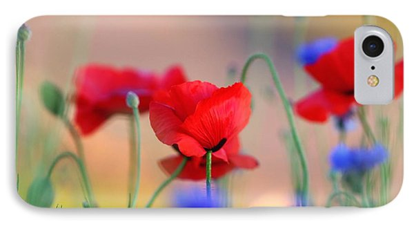 Poppies In Spring  IPhone Case