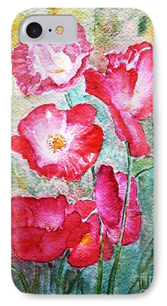 Poppies IPhone Case by Jasna Dragun