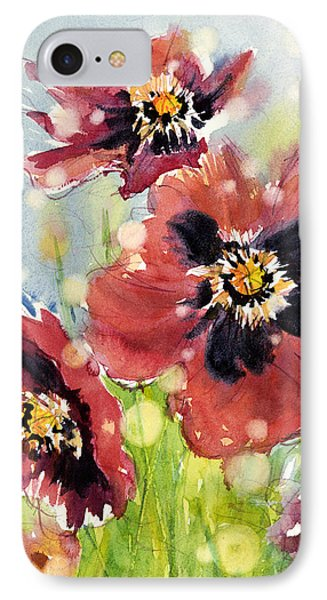 Poppies Phone Case by Judith Levins