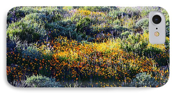 IPhone Case featuring the photograph Poppies On A Hillside by Glenn McCarthy Art and Photography