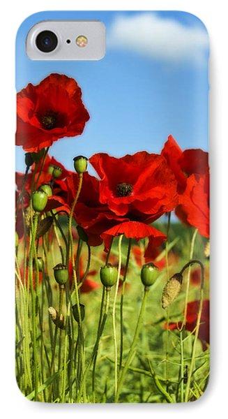 Poppies Phone Case by Svetlana Sewell