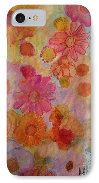 Popping IPhone Case by Kim Nelson