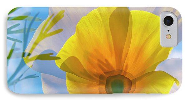 Poppy And Sun IPhone Case by Veikko Suikkanen