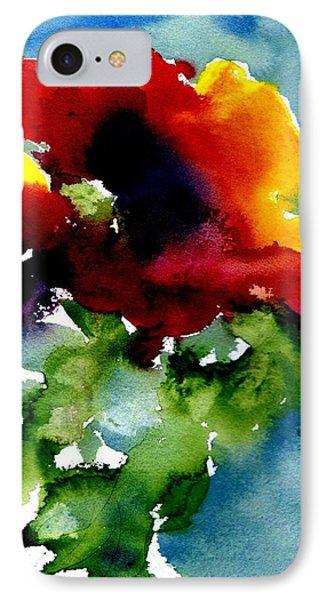 Poppy IPhone Case by Anne Duke