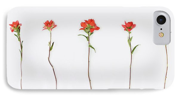 Poppy Blossoms IPhone Case by Brittany Bevis