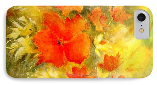 Poppy Bouquet  Phone Case by Madeleine Holzberg