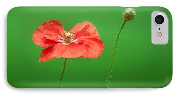 Poppy Phone Case by Bulik Elena