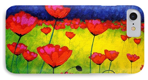 Poppy Cluster IPhone Case by John  Nolan