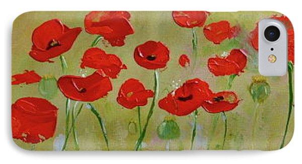 Poppy Fever IPhone Case by Teresa Tilley