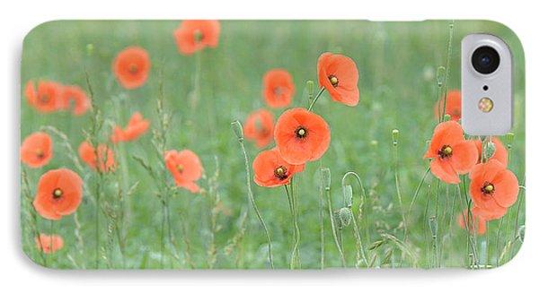 Poppy Field IPhone Case by Alan Lenk