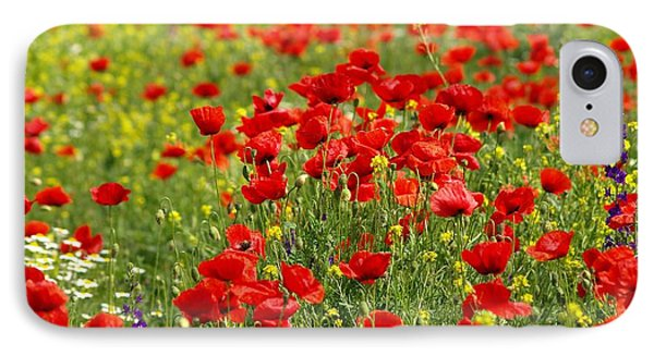 Poppy Field IPhone Case by Thomas M Pikolin