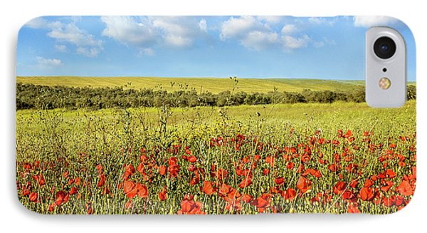 IPhone Case featuring the photograph Poppy Fields by Marion McCristall