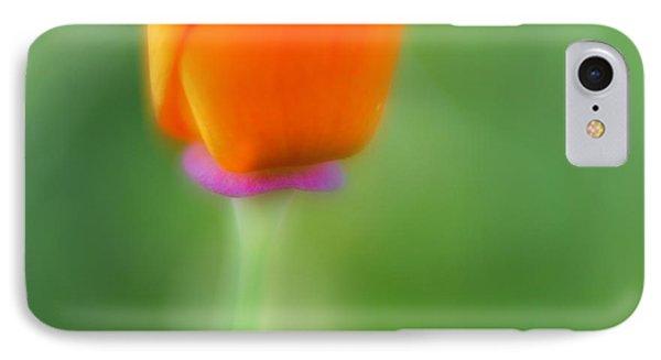 Poppy Flower Phone Case by Silke Magino