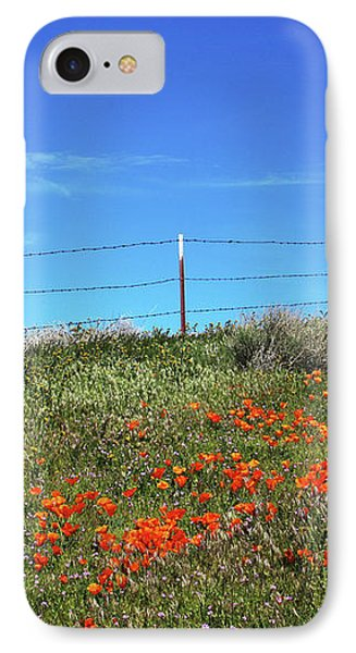 IPhone Case featuring the mixed media Poppy Hill- Art By Linda Woods by Linda Woods