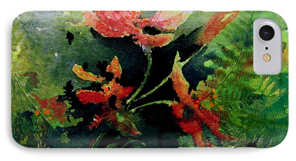 Poppy Impressions IPhone Case by Hanne Lore Koehler