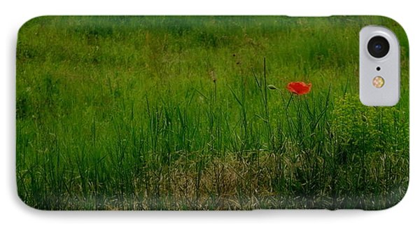 IPhone Case featuring the photograph Poppy In The Field by Marija Djedovic