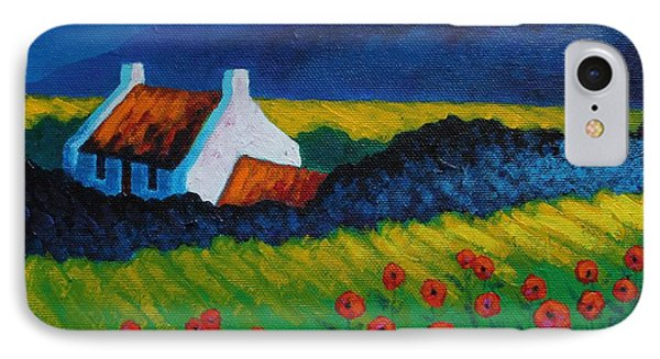 Poppy Meadow Phone Case by John  Nolan
