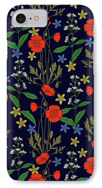 Poppy Meadow IPhone Case by Sholto Drumlanrig
