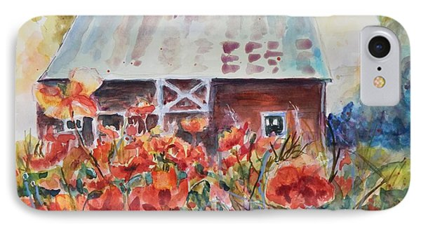 Poppy Morning IPhone Case by P Maure Bausch
