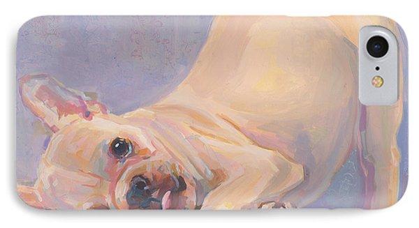 Poppy Puppy IPhone Case by Kimberly Santini