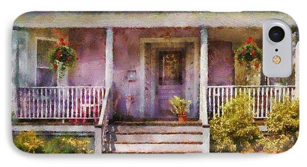 Porch - Cranford Nj - Grandmotherly Love Phone Case by Mike Savad