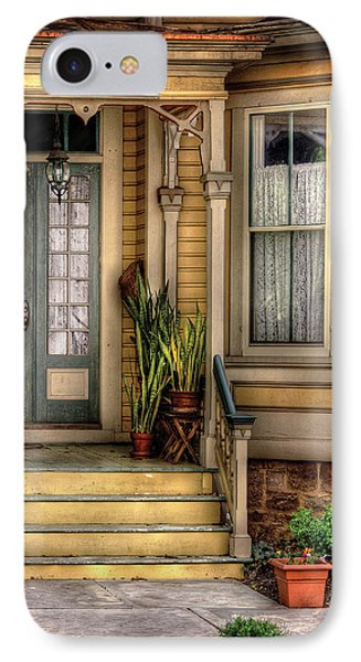 Porch - House 109 Phone Case by Mike Savad
