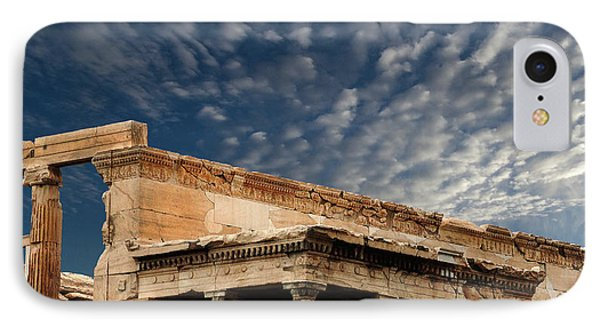 Porch Of The Caryatids Athens Greece IPhone Case by Bob Christopher