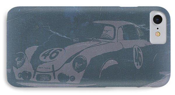 Porsche 356 Coupe Front Phone Case by Naxart Studio