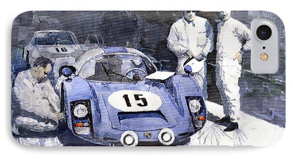 Porsche 906 Daytona 1966 Herrmann-linge IPhone Case by Yuriy  Shevchuk