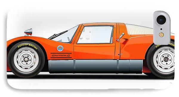 Porsche 906 Illustration IPhone Case