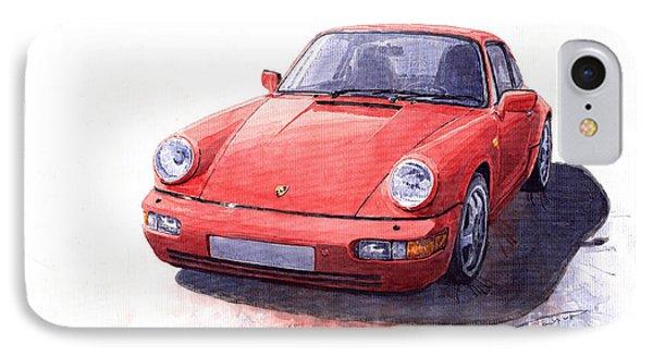 Porsche 911 Carrera 2 1990 IPhone Case